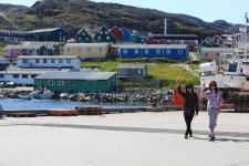 <h5>Qaqortoq </h5><p>Billedet taget nede ved havnen. Photo/foto © Otto Motzfeldt</p>