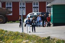 <h5>Qaqortoq </h5><p>Billedet taget ved forsamlingshuset. Photo/foto © Otto Motzfeldt</p>
