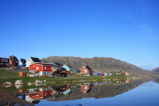 <h5>Qaqortoq 2009</h5><p>Billede taget ved Storesøen Photo/foto © Otto Motzfeldt</p>