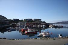 <h5>Qaqortoq 2009</h5><p>Billede af havnen en smuk morgen Photo/foto © Otto Motzfeldt</p>
