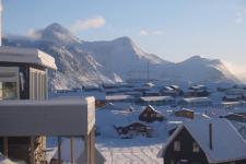 <h5>Nuuk</h5><p>Najaaraq Fontain har sendt dette smukke billede. © Najaaraq Fontain</p>