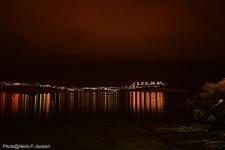 <h5>Nuuk</h5><p>Niels Joelsen Heilmann har taget dette smukke billede af Qinngorput om aftenen. Copyright Niels Joelsen Heilmann </p>