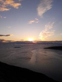 <h5>Ilulissat</h5><p>© Bodil Fontain har taget dette billede fra smukke Ilulissat. </p>