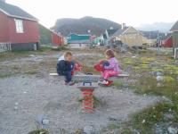 <h5>Nanortalik</h5><p>Laila Bertelsen har taget dette smukke billede af børn der leger. Copyright Laila Bertelsen</p>