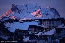 <h5>Nuuk</h5><p>Niels Joelsen Heilmann har sendt dette smukke billede. Copyright Niels Joelsen Heilmann</p>