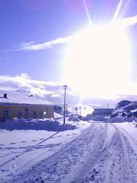 <h5>Qaqortoq</h5><p>Dorthinnguaq Brønlundhar taget dette smukke billede fra byen. Copyright Dorthinnguaq Brønlund</p>