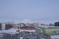 <h5>Nuuk</h5><p>Bodil Fontain har taget dette smukke billede. Copyright Bodil Fontain</p>