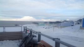 <h5>Nuuk</h5><p>Bodil Fontain har taget dette smukke billede fra Nuussuaq. Copyright Bodil Fontain</p>