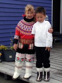 <h5>Nuuk</h5><p>Erik Rosing har taget dette smukke billede af deres børn, Freja og Miki, da de var små. Copyright Erik Rosing</p>