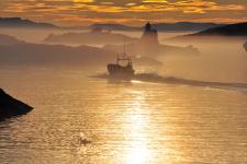 <h5>Qeqertarsuaq</h5><p>Saalamiit Møller Lorentzen har taget dette smukke billede. Copyright Saalamiit Møller Lorentzen</p>