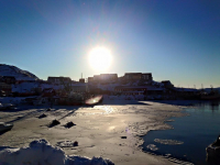 <h5>Qaqortoq </h5><p>Dette smukke billede er taget af Nuka Korsgaard. © Nuka Korsgaard</p>