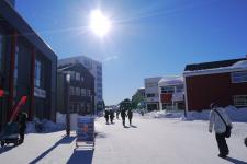 <h5>Nuuk</h5><p>© Najaaraq Fontain. Najaaraq Fontain har sendt dette smukke billede af gågaden i Nuuk. Smukt smukt smukt</p>