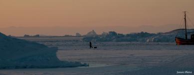 <h5>Ilulissat</h5><p>Augo Jansen har taget dette billede fra smukke Ilulissat. © Augo Jansen</p>