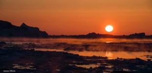 <p>Augo Jansen har taget dette billede fra smukke Ilulissat. © Augo Jansen</p>