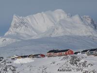 <h5>Nuuk </h5><p>© Søren Aadaralak Lyberth. Søren har taget dette smukke billede i Nuuk i mart 2015.</p>