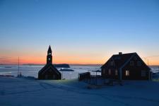 <p>Mikael Larsen har taget dette billede fra smukke Ilulissat. © Mikael Larsen</p>