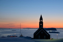 <h5>Ilulissat</h5><p>Mikael Larsen har taget dette billede fra smukke Ilulissat. © Mikael Larsen</p>