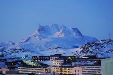 <h5>Nuuk</h5><p>Najaaraq Fontain har taget dette billede fra smukke Nuuk. © Najaaraq Fontain</p>