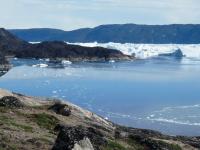 <h5>Ilulissat</h5><p>©Marianne Jacobsen. Marianne Jacobsen har taget dette smukke billede ved Sermermiutsletten.</p>