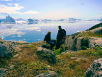 <h5>Ilulissat</h5><p>©Marianne Jacobsen. Marianne Jacobsen har taget dette smukke billede ved Sermermiutsletten. Kællingekløften.</p>