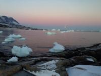 <h5>Qeqertarsuaq</h5><p>©Linda G. Ostermann. Linda har taget dette smukke billede i Qeqertarsuaq, Disko Øen.</p>