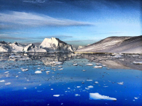 <h5>Grønlandsk natur</h5><p>Billede 3: © Juaannguaq Reimer har taget dette smukke billede.</p>