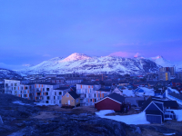 <h5>Nuuk</h5><p>Billede 57: © Aviâja Lynge har taget dette billede. Ordinary housings in the capitol of Greenland, taken on an ordinary saturday evening in june 15 🙂</p>