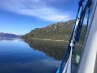 <h5>Nuuk</h5><p>© Asii Chemnitz Narup. Asii har taget dette smukke billede på en sejltur. Den grønlandske natur har vist sig fra sin smukkeste side.</p>