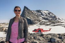 <h5>Nuuk</h5><p>©Carlo Miki Lukassen. Carlo har været på fototur med Air Greenland på Grønlands mest berømte fjeld, Sermitsiaq.</p>