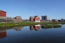 <p>© Najaaraq Fontain. Najaaraq har taget dette smukke sommerbillede i Nuuk.</p>