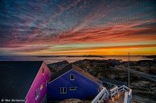 <p>© Abel Berthelsen, AB Photography, har taget dette smukke billede i Sisimiut.</p>