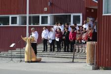 <h5>Nationaldagen 2016</h5><p>© Erene Olsvig. Smukt billede fra nationaldagen i Ilulissat.</p>