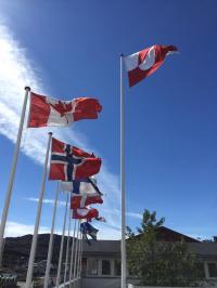 <h5>Nationaldagen 2016</h5><p>© Nuka Korsgaard. Smukt billede fra nationaldagen i Qaqortoq.</p>