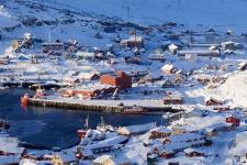 <h5>Qaqortoq</h5><p>© Kunuk Mølgaard Motzfeldt har taget dette smukke billede i januar 2017.</p>