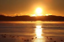 <h5>Qaqortoq</h5><p>© Ole J. Petersen har taget dette smukke billede i Qaqortoq.</p>