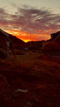 <h5>Qaqortoq</h5><p>© Susanne Heilmann har taget dette billede af Qaqortoq.</p>