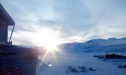 <h5>Uummannaq</h5><p>© Avalequt Jolie Semionsen har taget dette smukke billede fra Uummannaq.</p>