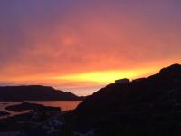 <h5>Qaqortoq</h5><p>Solnedgang <3  © Laila Mølgaard Motzfeldt</p>