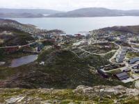 <h5>Qaqortoq</h5><p>Billede over byen © Laila Mølgaard Motzfeldt</p>