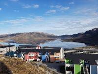 <h5>Qaqortoq</h5><p>Foto over Storesøen Photo/foto © Nukaaraq Kielsen Kleist</p>