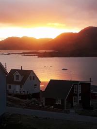 <h5>Qaqortoq</h5><p>Udsigt over Storesøen. Photo/foto © Susanne Heilmann</p>