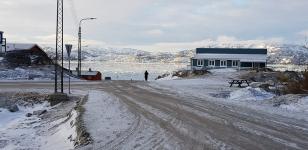 <p>© Nuka Korsgaard har taget dette smukke billede i Qaqortoq. April 2018</p>