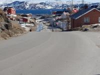 <h5>Qaqortoq</h5><p>© Susanne Heilmann. Qaqortoq den 1. april 2018</p>