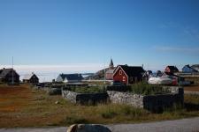 <h5>Nuuk</h5><p>© Otto Motzfeldt. En smuk dag i Nuuk</p>